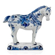 Royal Delft Blue Horse