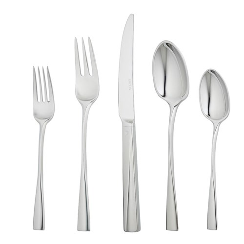 Ercuis Chorus Stainless Steel 5-Piece Place Setting