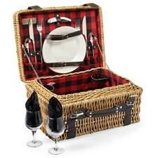 Canterbury Picnic Basket for Two