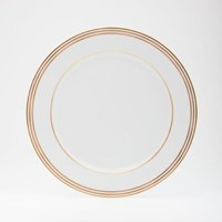 Royal Limoges Latitudes Gold Dessert / Salad Plate