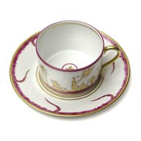 Pinto Paris Chinoserie Tea Cup & Saucer