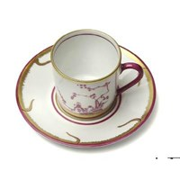 Pinto Paris Chinoiserie Coffee Cup & Saucer
