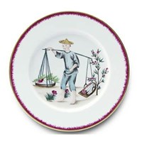 Pinto Paris Chinoiserie Dinner Plate #2