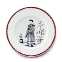 Pinto Paris Chinoiserie Dinner Plate #3