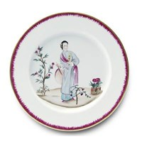 Pinto Paris Chinoiserie Dinner Plate #4
