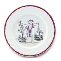 Pinto Paris Chinoiserie Dinner Plate #6