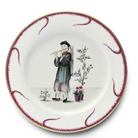 Pinto Paris Chinoiserie Buffet Plate #1