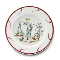 Pinto Paris Chinoiserie Buffet Plate #2