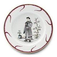 Pinto Paris Chinoiserie Buffet Plate #3