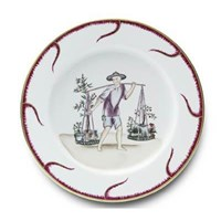 Pinto Paris Chinoiserie Buffet Plate #6