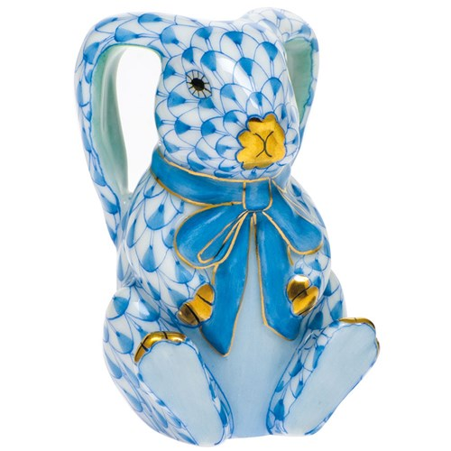 Herend Bunny Ears, Blue