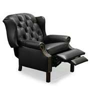 Browning Tufted Wing Chair