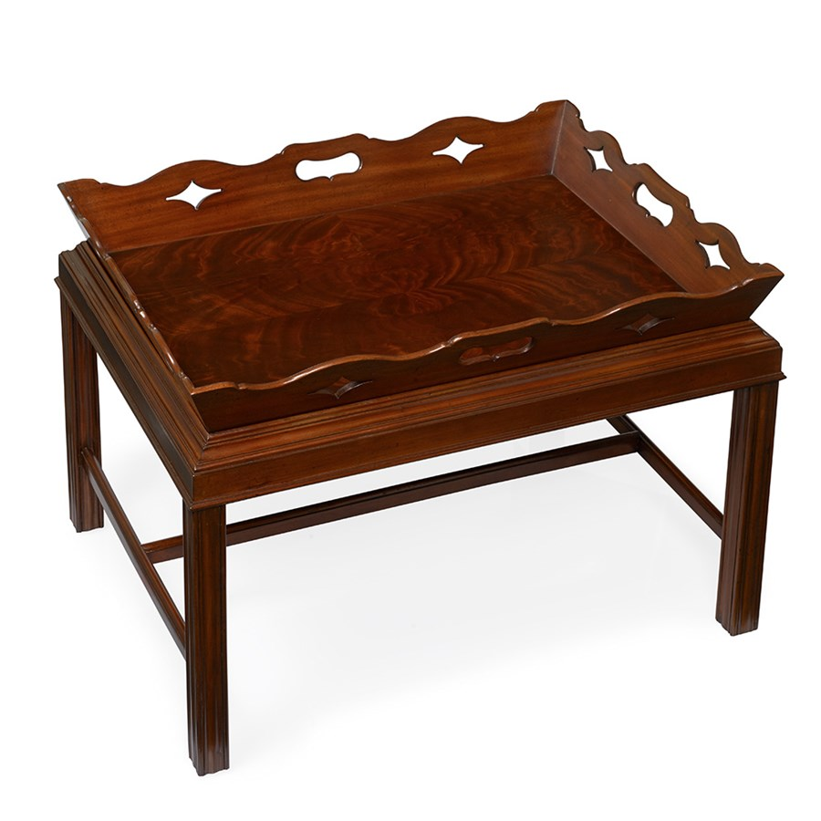 Swell Mahogany Butlers Tray Table Ibusinesslaw Wood Chair Design Ideas Ibusinesslaworg