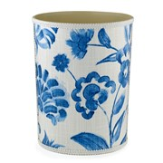 Springtime Blue Wastebasket & Tissue Box Cover