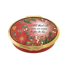 Halcyon Days All That I Am Enamel Box