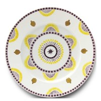 Agra Yellow Charger/Presentation Plate