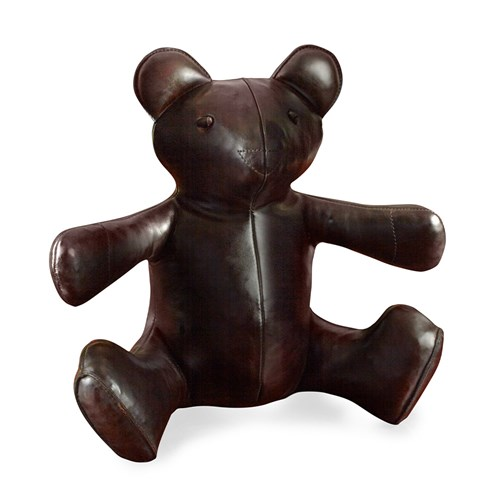 Leather Teddy Bear