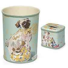 Staffordshire Wastebasket & Tissue Box Cover