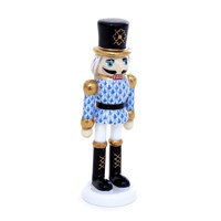 Herend Nutcracker, Blue