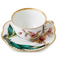 Histoiries D'Orchidees Tea Cup and Saucer