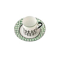 Menta Coffee Cup and Saucer
