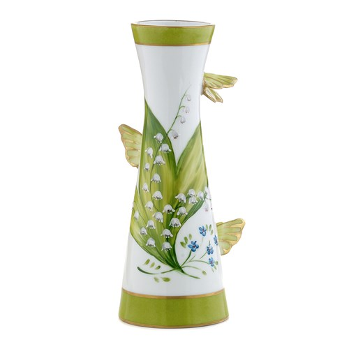 Lily of the Valley Infinite Butterfly Vase