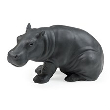Nymphenburg Porcelain Young Hippopotamus