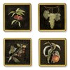 Fruits Set 2 Square Glass Coasters