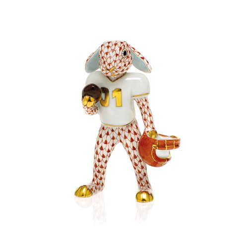 Herend Football Bunny, Rust