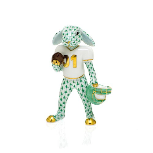 Herend Football Bunny, Green