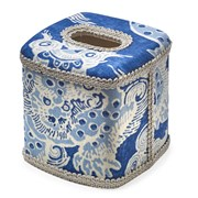 Blue Dragon Wastebasket & Tissue Box Cover