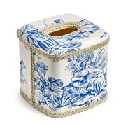 Country Life Wastebasket & Tissue Box Cover
