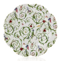 Royal Limoges Nymphea Colibri Dessert Plate