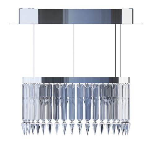 Baccarat Lady Crinoline Chandelier Classic, 1 Level
