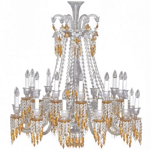 Baccarat Zenith Chandelier Charleston, 24L Short