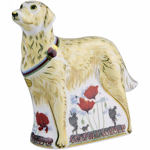 Royal Crown Derby War Dog, Limited Edition
