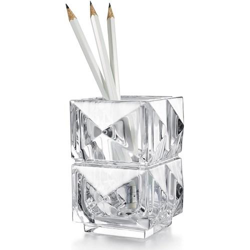 Baccarat Louxor Pencil Holder, Clear