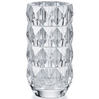 Baccarat Louxor Round Vase, Small Clear