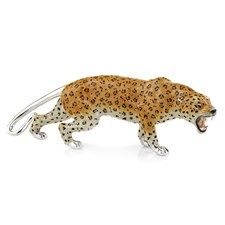 Sterling Silver Extra Large Leopard