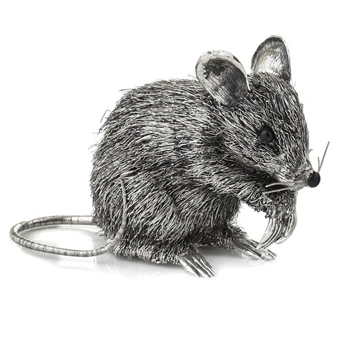 Sterling Silver Large Mouse