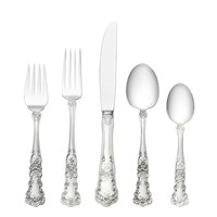 Gorham Buttercup Sterling Silver 5 Piece Place Setting