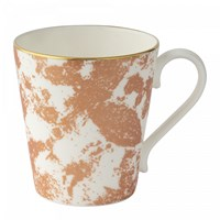 Royal Crown Derby Crushed Velvet Copper Mug