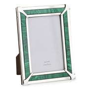 Malachite & Sterling Silver Frames