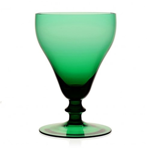 William Yeoward Myrtle Goblet Green