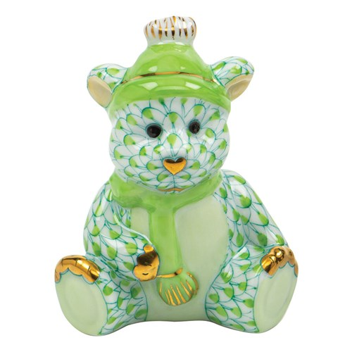 Herend Winter Bear, Key Lime