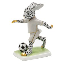 Herend Soccer Bunny