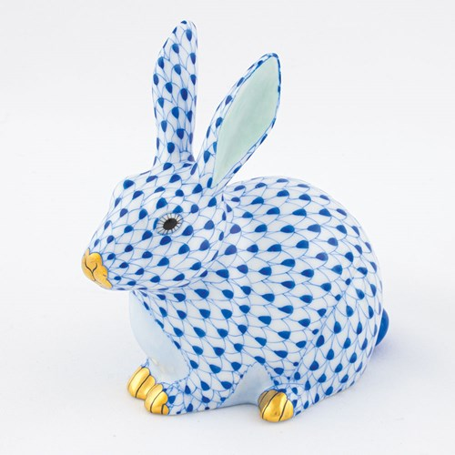 Herend Chubby Bunny, Sapphire