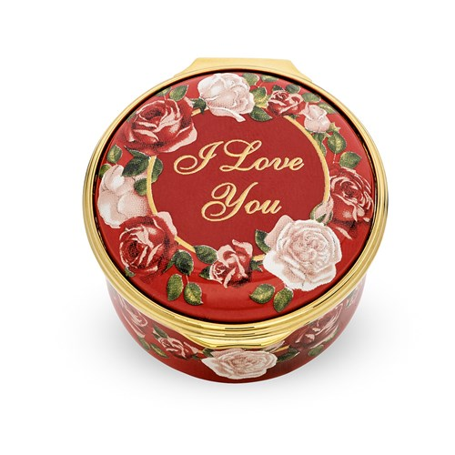 Halcyon Days 2020 Valentine's Day Enamel Box