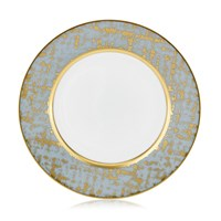 Royal Limoges Tweed Grey & Gold Bread & Butter Plate