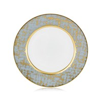 Royal Limoges Tweed Grey & Gold Tea Saucer